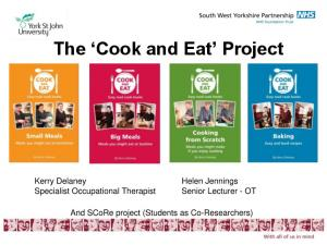 The Cook and Eat Project