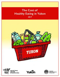 The Cost of Healthy Eating in Yukon