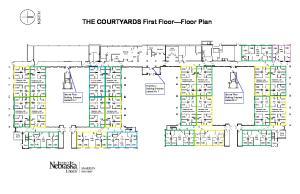 THE COURTYARDS First Floor Floor Plan