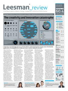 The creativity and innovation catastrophe
