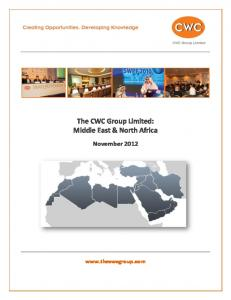The CWC Group Limited: Middle East & North Africa