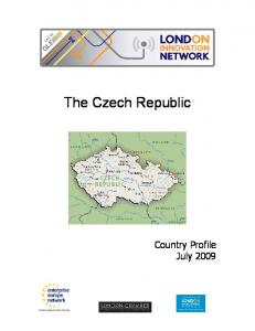 The Czech Republic Country Profile July 2009
