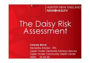 The Daisy Risk Assessment