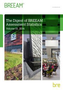 The Digest of BREEAM Assessment Statistics