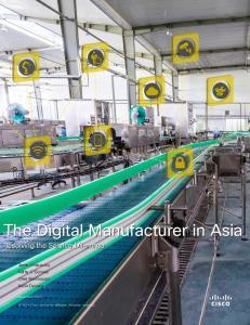The Digital Manufacturer in Asia