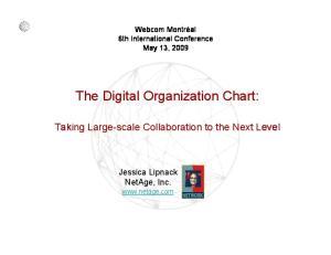 The Digital Organization Chart: