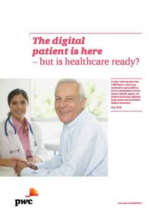 The digital patient is here but is healthcare ready?