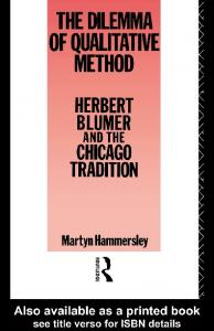 THE DILEMMA OF QUALITATIVE METHOD