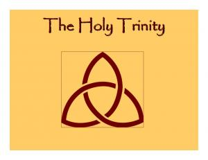 The Doctrine of The Trinity can be difficult, but it is important