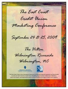 The East Coast Credit Union Marketing Conference