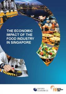 THE ECONOMIC IMPACT OF THE FOOD INDUSTRY IN SINGAPORE