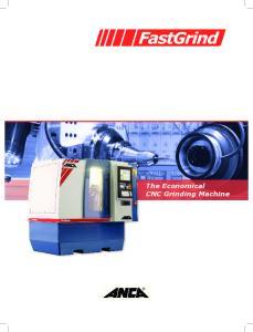 The Economical CNC Grinding Machine