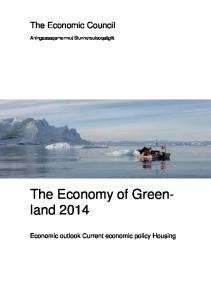 The Economy of Greenland