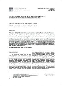 The effects of benzoic acid and protein level on urine ph and ammonia emission of pigs