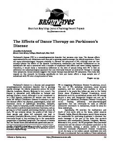 The Effects of Dance Therapy on Parkinson s Disease