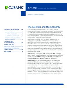 The Election and the Economy