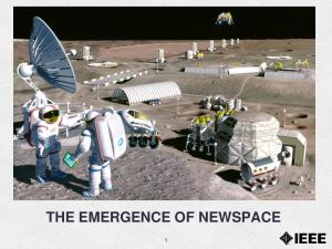 THE EMERGENCE OF NEWSPACE