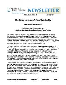 The Empowering of Art and Spirituality