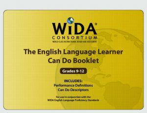 The English Language Learner Can Do Booklet