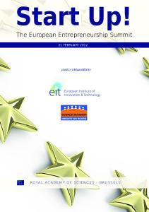 The European Entrepreneurship Summit