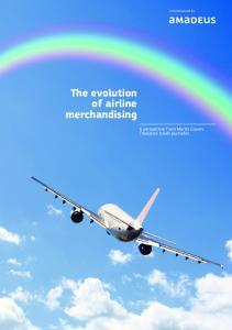 The evolution of airline merchandising