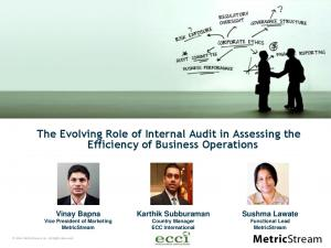 The Evolving Role of Internal Audit in Assessing the Efficiency of Business Operations