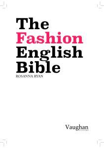 The Fashion English Bible ROSANNA RYAN