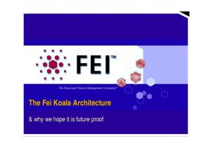 The Fei Koala Architecture. & why we hope it is future proof