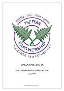 The Fern Partnership - CHILDCARE LEADER