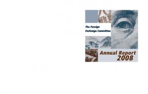 The Foreign Exchange Committee. Annual Report