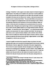 The fragment in the Sturm und Drang: Goethe, Coleridge and Herder