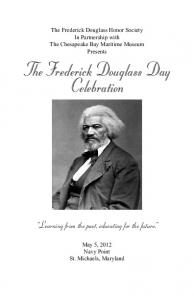 The Frederick Douglass Day Celebration