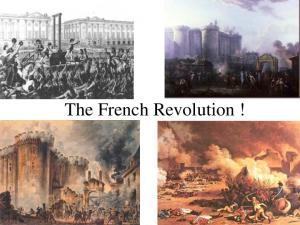 The French Revolution!