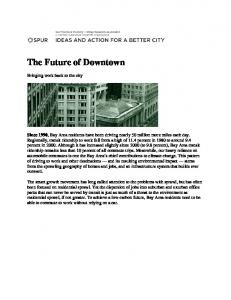 The Future of Downtown
