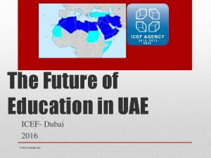 The Future of Education in UAE