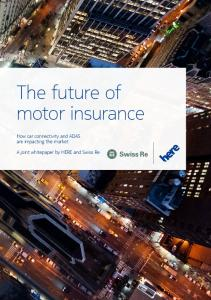 The future of motor insurance