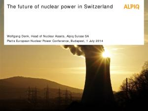 The future of nuclear power in Switzerland