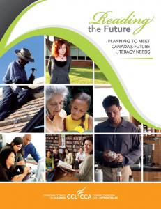 the Future Planning to meet Canada s future literacy needs