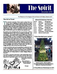 The Gift of Taizé. Feliz Navidad para todos! A Very Merry Christmas to All! Advent & Christmas Services