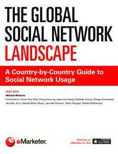 THE GLOBAL SOCIAL NETWORK LANDSCAPE