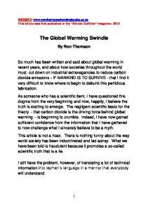 The Global Warming Swindle