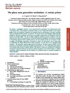 The gluon mass generation mechanism: A concise primer