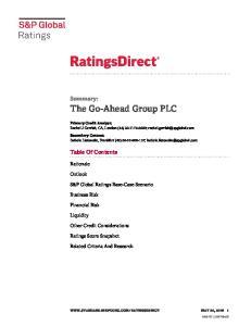 The Go-Ahead Group PLC