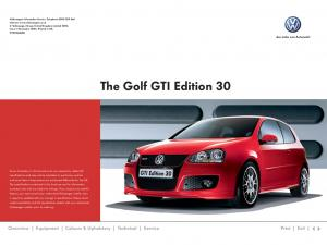 The Golf GTI Edition 30