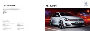 The Golf GTI. The Golf GTI. Internet: vw.com.hk