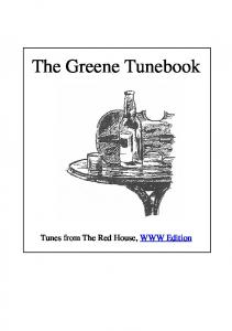 The Greene Tunebook. Tunes from The Red House, WWW Edition