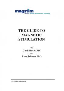 THE GUIDE TO MAGNETIC STIMULATION