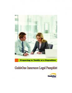 The GuideOne Insurance Legal Department