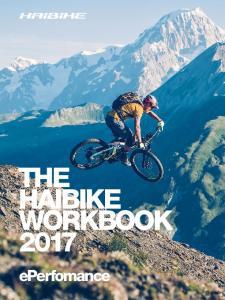 THE HAIBIKE WORKBOOK 2017