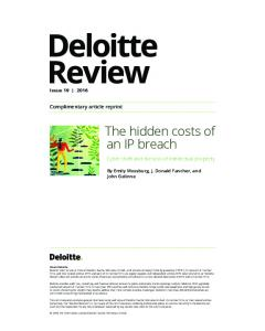 The hidden costs of an IP breach